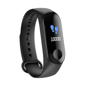 M3C Plus Heart Rate Blood Pressure Sleep Monitor Sport Mode Social Media Smart Watch Bracelet