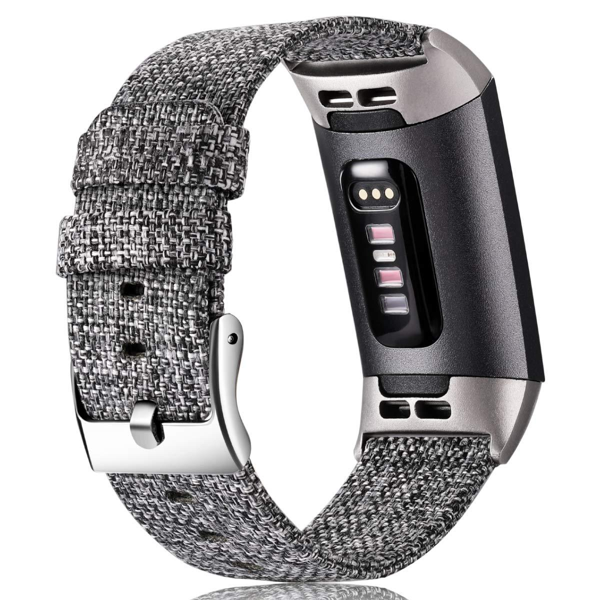 Woven Bands Compatible with Fitbit Charge 3 FB2300