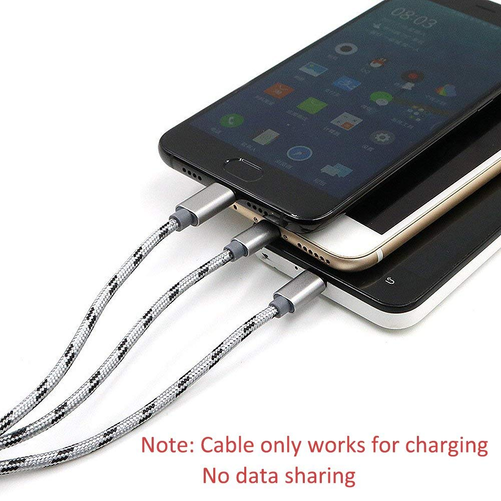 3 in 1 Multiple Universal Type C USB Charging Cable for iphone Samsung Huawei Xiaomi