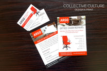 Load image into Gallery viewer, Business Card & Flyer Combo - Buy and Save