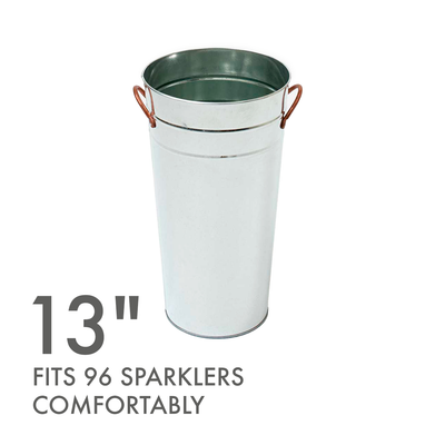 "13"" Sparkler Display Bucket"
