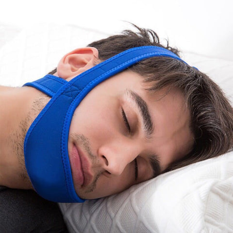 New Anti Snore Stop Snoring Chin Strap Belt