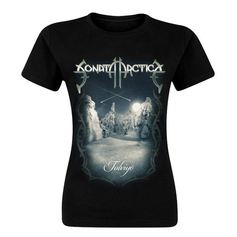 Talviyö Cover Women's T-shirt European Tour 2019 Edition