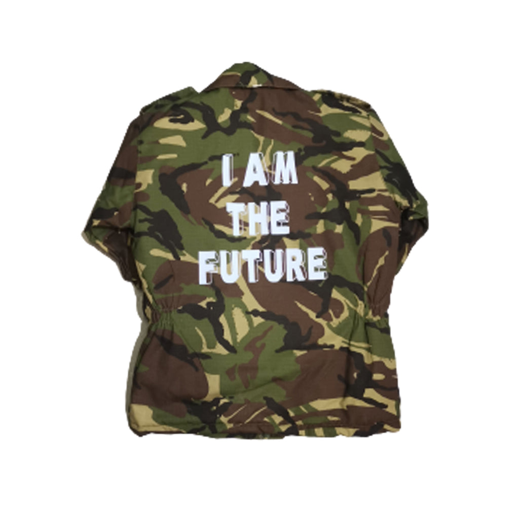 Kids Camo Jacket | Kids Army Jacket | I Am The Future