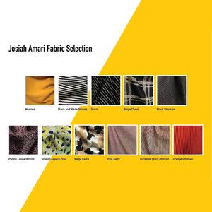 josiah amari fashion fabrics and colours swatch