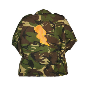 Kids Camo Jacket | Kids Army Jacket | Thunder Bolt