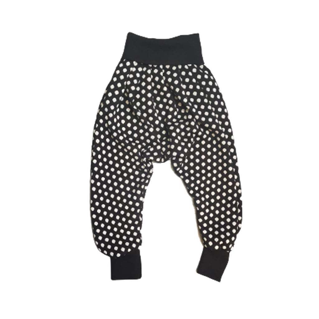 Unisex Drop Crotch Trousers Dotty | Josiah Amari