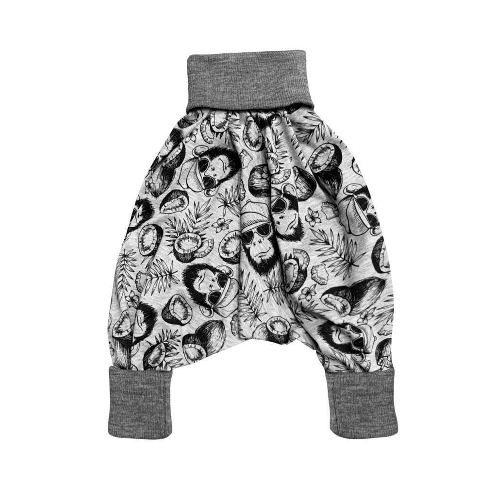 Unisex Kids Harems Pants Cheeky Monkey | Josiah Amari