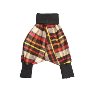 Harems Pants Orange Check | Josiah Amari
