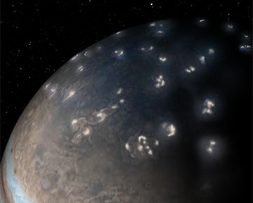 Juno solves 39-years old mystery of Jupiter Lightning