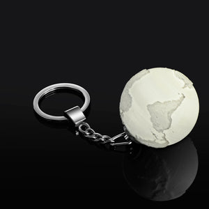 The Earth Light Up Keychain