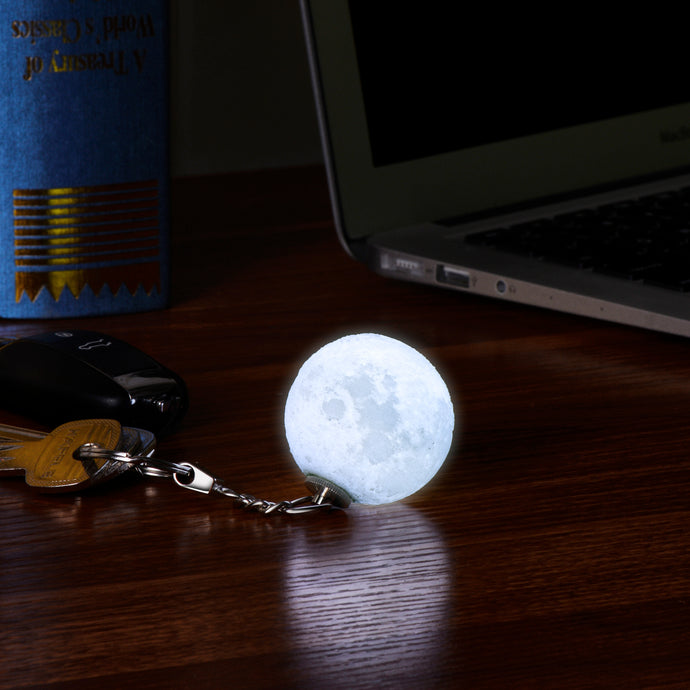 The Full Moon Light Up Keychain