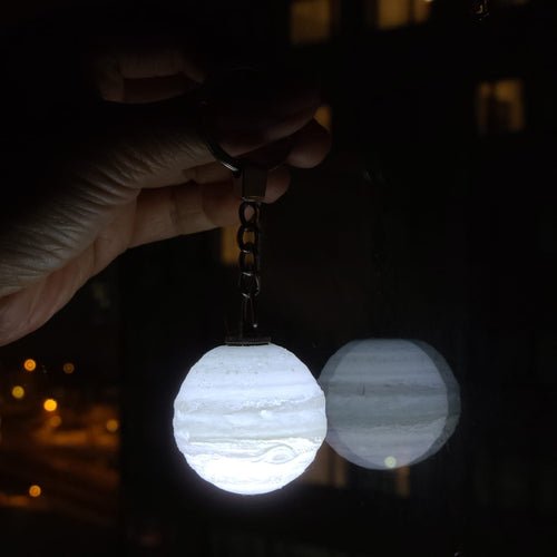 The Jupiter Light Up Keychain