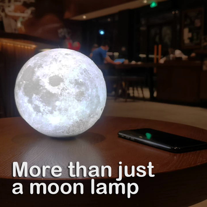 Pirouette - Simple Moon Lamp Redesigned