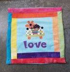 Love Bug Pillow Cover