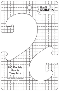 HQ Double Hearts Ruler