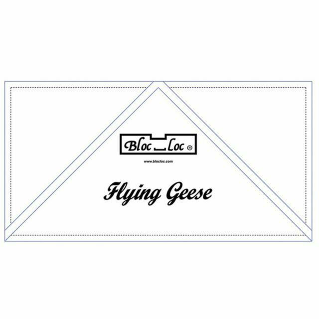 Bloc Loc Flying Geese Ruler 4 x 8