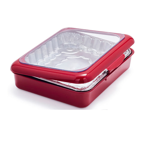 Portable Fancy Foil Panz 2 in 1 Casserole Tray Carrier
