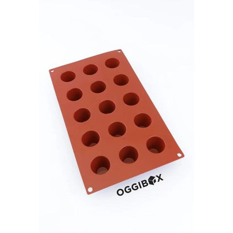 Oggibox 15-Cavity Popover Muffin Silicone Mold