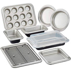 Anolon Allure Steel Non-Stick 10-Piece Bakeware Set