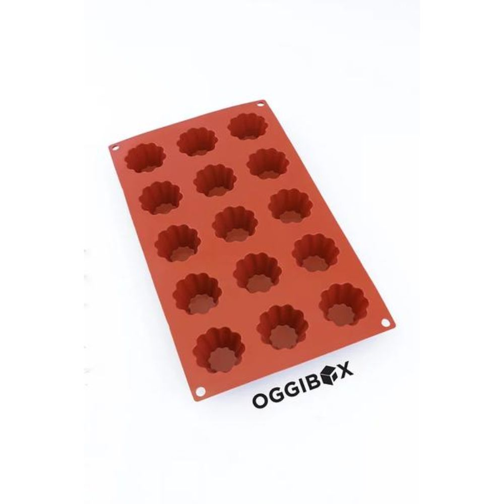 Oggibox 15-Cavity Muffin Silicone Mold