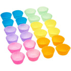 Silicone Cupcake Baking Cups - Pack of 24