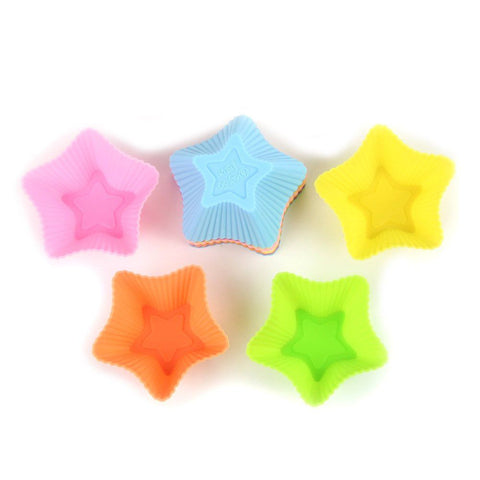 Silicone Cupcake Liners - 24 Pcs.