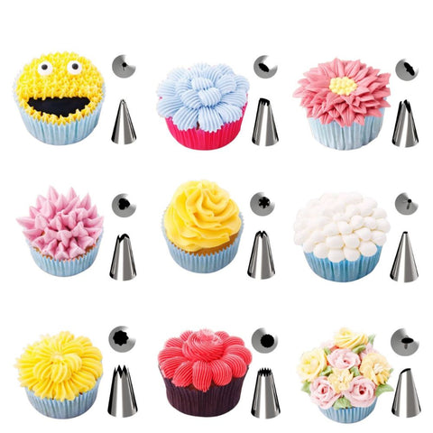 42 Pieces Cake Decorating Supplies Kit