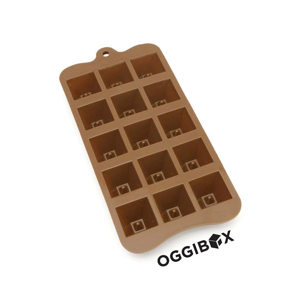 Oggibox 15 Cavity Pyramid Chocolate Silicone Mold
