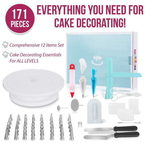 Image of 171 Pc. Cake Decorating Kit