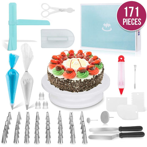 171 Pc. Cake Decorating Kit