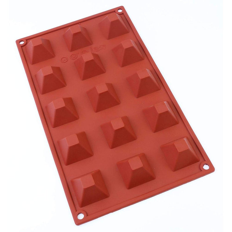 Oggibox 15-Cavity Pyramid Silicone Mold