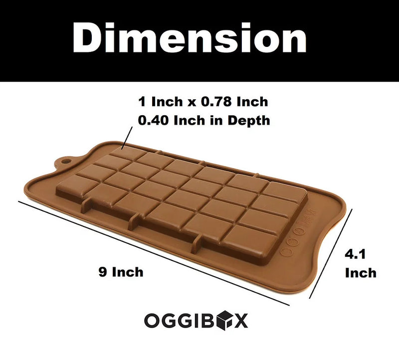Oggibox Break Apart Chocolate Silicone Mold
