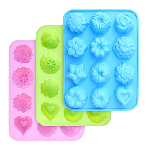 Image of FREE - Silicone Flowers Molds