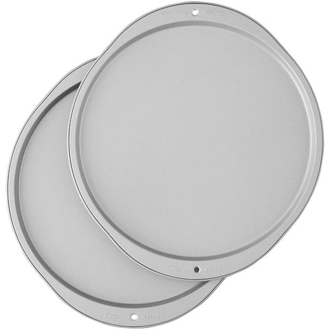 Image of Wilton Recipe Right Pizza Pans, 2-Piece Set