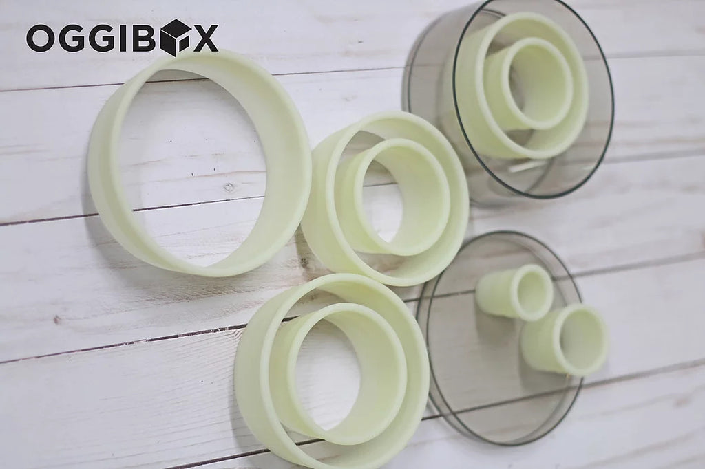 Oggibox 9pc Round Nylon Cutter