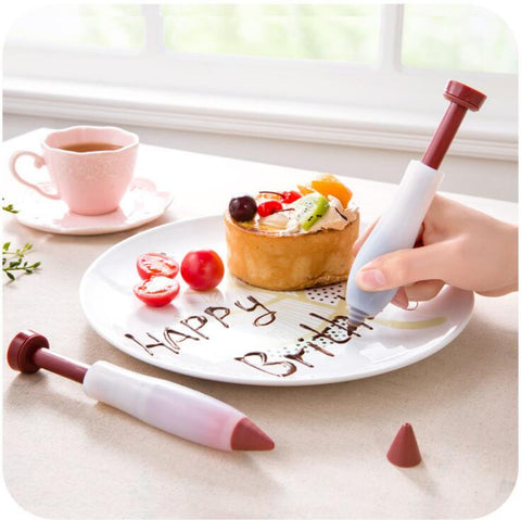 Image of Silicone Food Writing Pen Decorating Tools