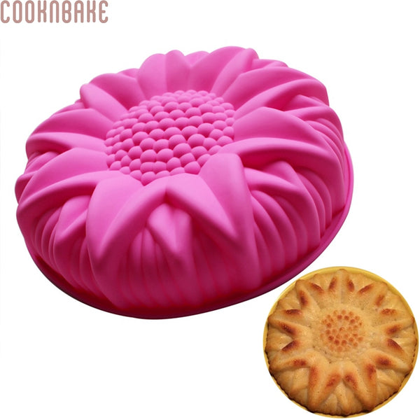 Silicone Sunflower Cake Mold