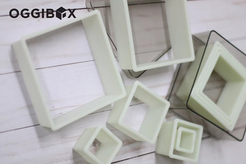 Image of Oggibox 9pc Square Nylon Cutter Set