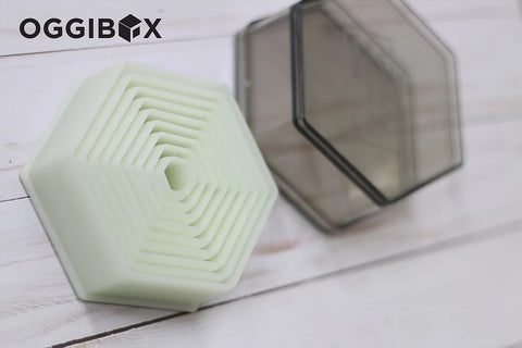 Oggibox 9pc Hexagon Nylon Cutter