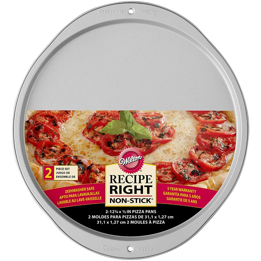 Wilton Recipe Right Pizza Pans, 2-Piece Set