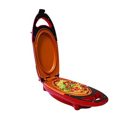 Image of Red Pan Copper Pan 5 Minute Chef Non Stick Copper Cooker