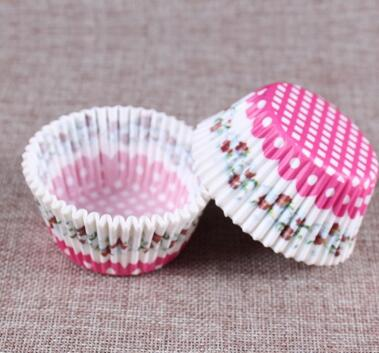 Image of 100 Piece Cupcake Baking Cups