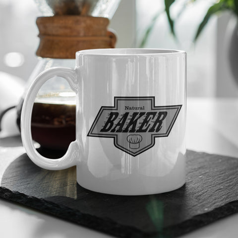 Baker Kings White Coffee Mug