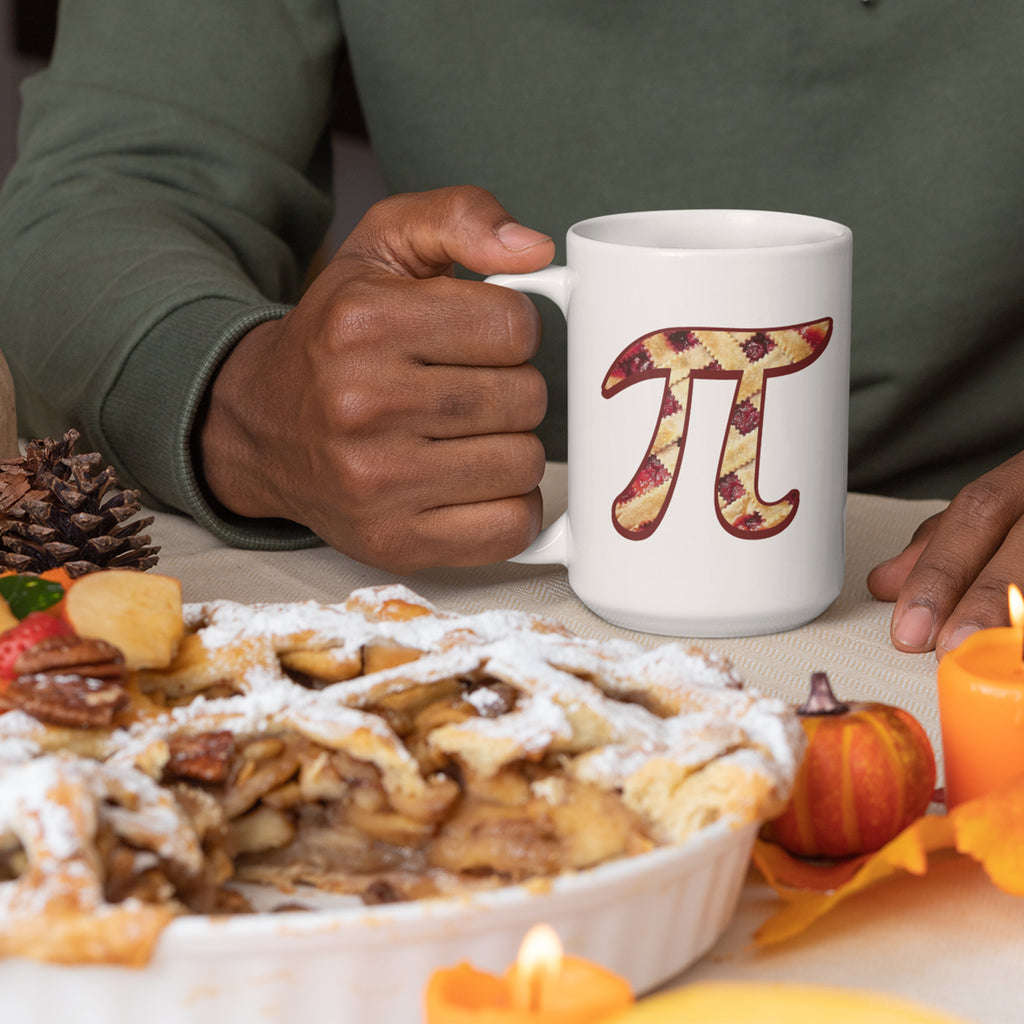 Pi Pie White Coffee Mug