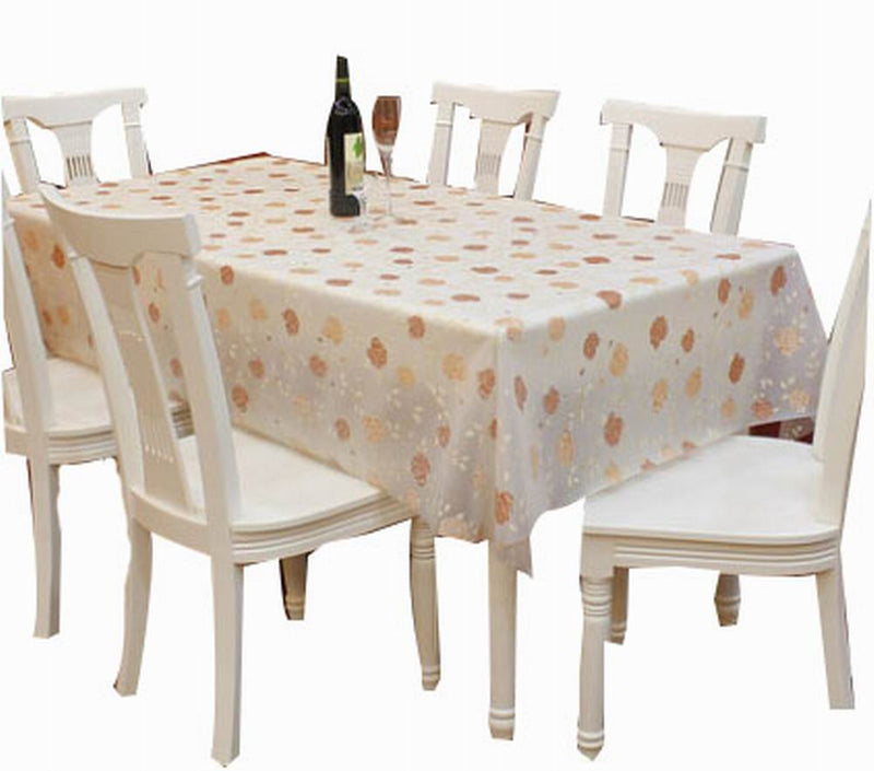 Waterproof Tablecloths Practical Table Linens Table Covers, Flowers [137*180cm]
