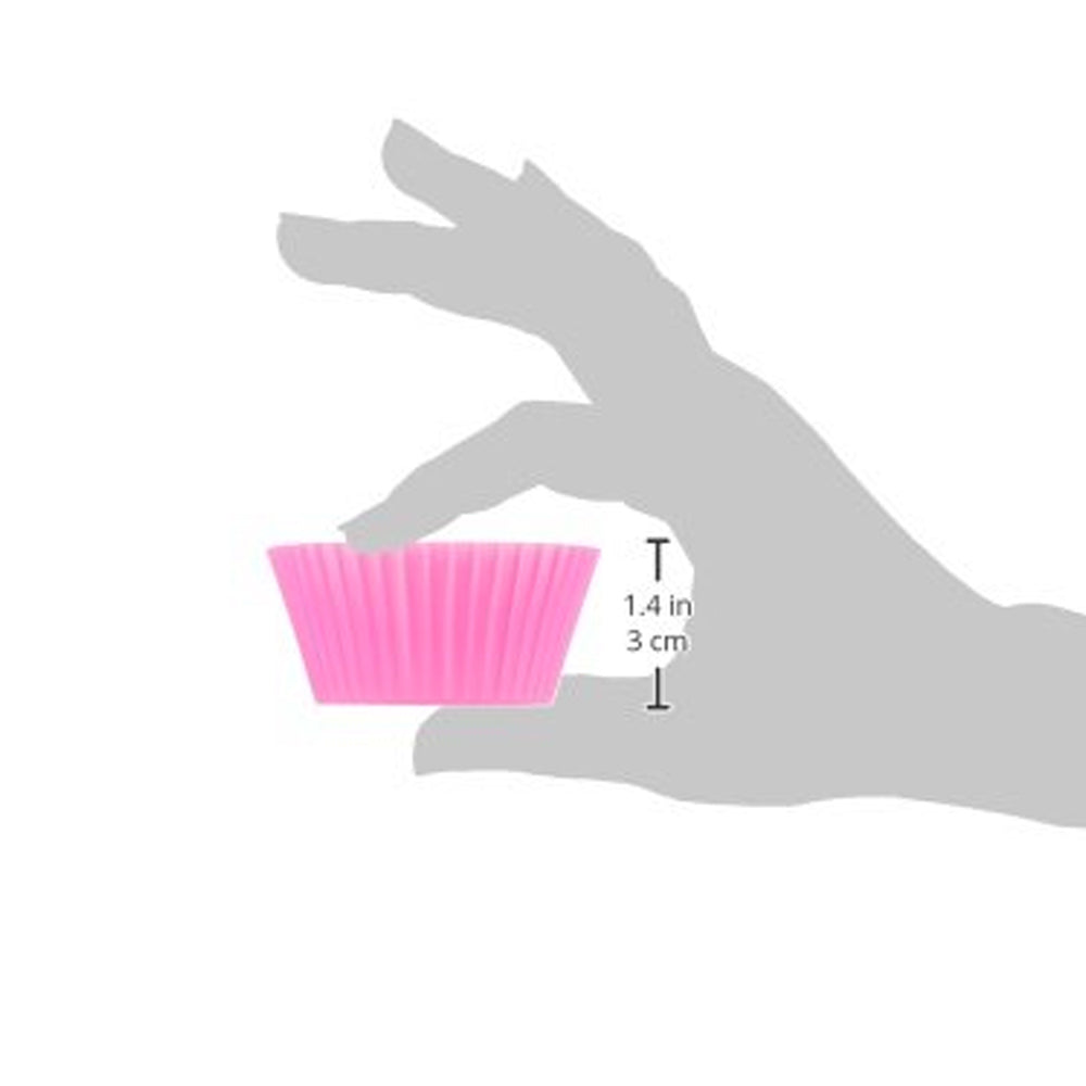 Silicone Baking Cups, Pack of 12