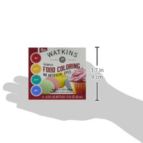 Image of Assorted Food Coloring