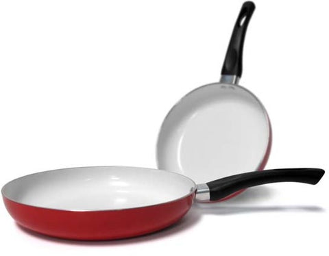 "Healthy Nonstick Ceramic Coated Frying Pan - 11""Durable Fry Pan"