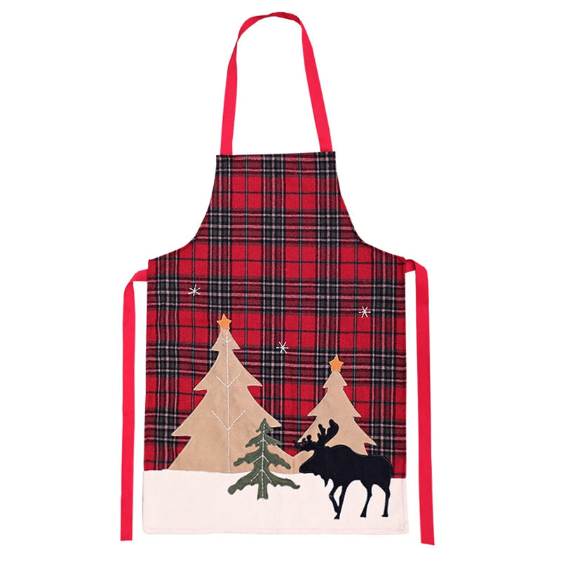 Elk Holiday Apron